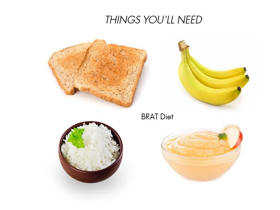 what are the foods in the brat diet