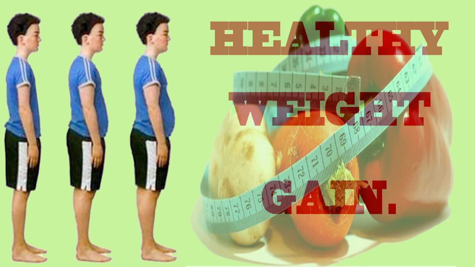 Diet and health tips to gain weight/ put on weight/ increase weight
