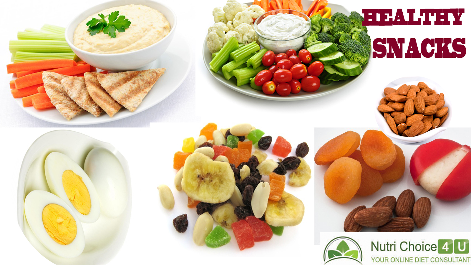 What are healthy options to snack in between meals? / Healthy snacking options.