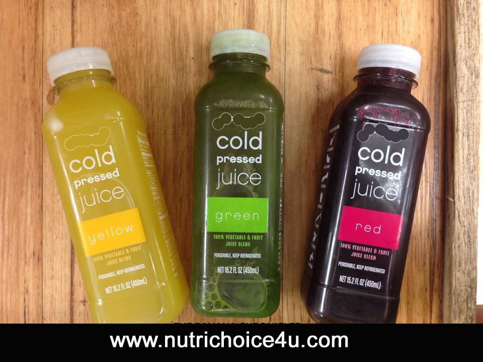Cold Pressed Juices Benefits