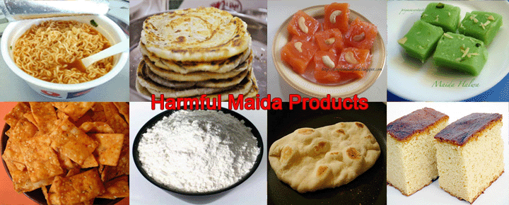 maida flour side effects