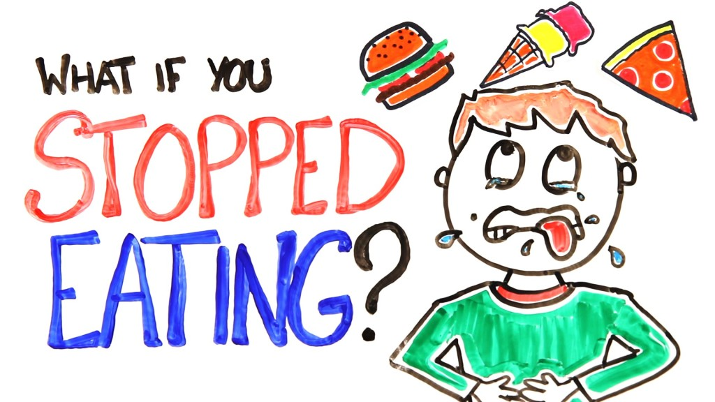 what happen if you stop eating?