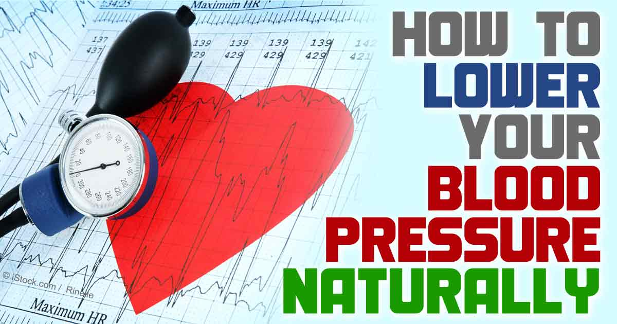 How to Control Blood Pressure Naturally at home