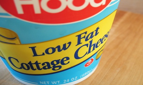 Food low in fat