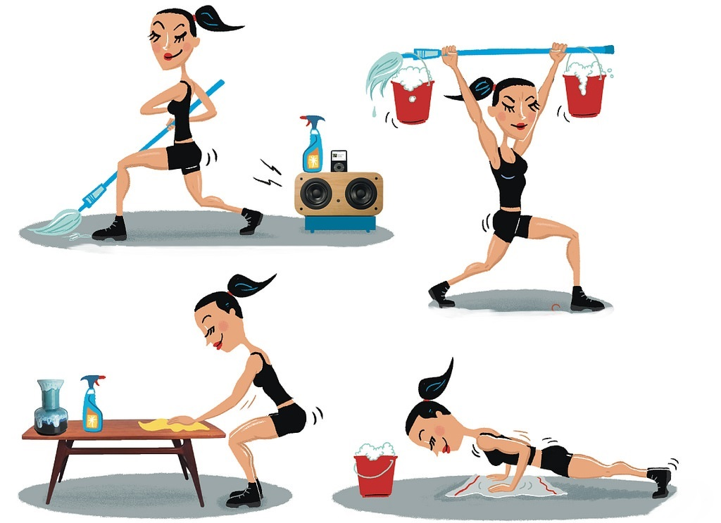 7 Home Workout Exercises for Stay-at-home Moms